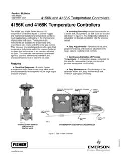 4156K and 4166K Temperature Controllers - CEXI