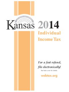 Individual Income Tax - ksrevenue.org