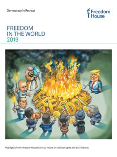 FREEDOM IN THE WORLD 2019 - freedomhouse.org