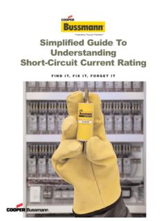 Simplified Guide To Understanding Short-Circuit Current …