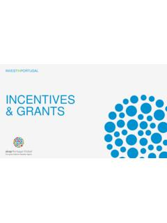 INCENTIVES & GRANTS - AICEP Portugal Global
