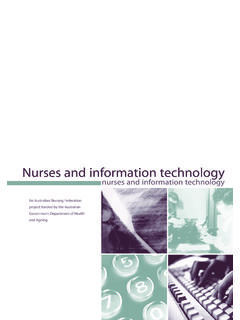 Nurses and information technology - anf.org.au