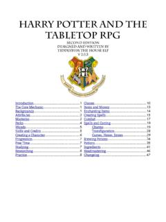 Harry Potter And The Tabletop Rpg Hproleplay Com Harry Potter And The Tabletop Rpg Hproleplay Com Pdf Pdf4pro