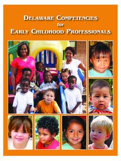 for EARLY CHILDHOOD PROFESSIONALS - dieecpd.org