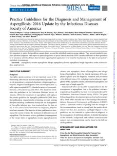 Clinical Infectious Diseases IDSA GUIDELINE - Penn …
