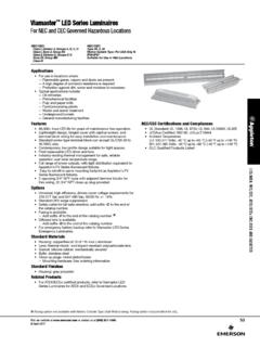 Viamaster LED Series Luminaires For NEC and CEC …