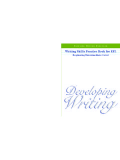 DevelopingDeveloping Writingriting