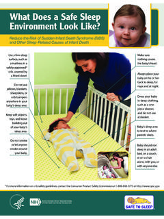 What does a safe sleep environment look like? - nichd.nih.gov