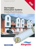 NEW! Stormwater Attenuation Systems - Klar-Environment