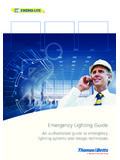 Emergency Lighting Guide - TNB.COM