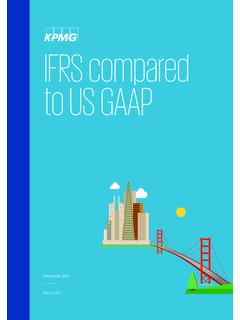 IFRS compared to US GAAP - assets.kpmg