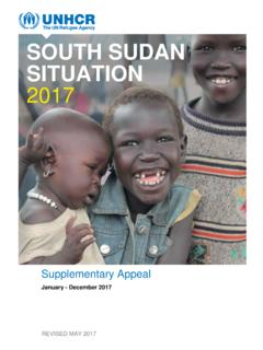 SOUTH SUDAN SITUATION 2017 - UNHCR