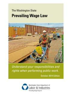 F700-032-000 Washington State Prevailing Wage Law Book