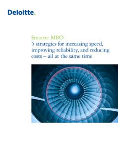 Smarter MRO 5 strategies for increasing speed, improving ...