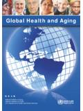 Global Health and Aging - World Health …