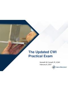 The Updated CWI Practical Exam - dot.state.pa.us
