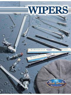 WIPERS - Bob Drake Reproductions, Inc.