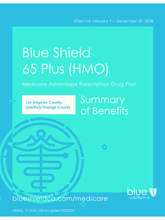 Blue Shield 65 Plus (HMO)