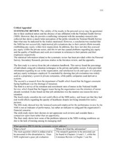 Critical Appraisal SYSTEMATIC REVIEW - Best Dissertation