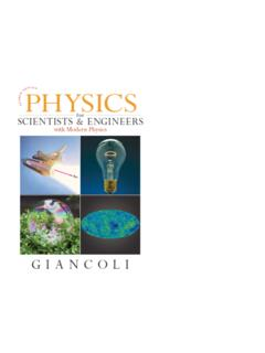 Physics for Scientists & Engineers, with Modern Physics, 4 ...
