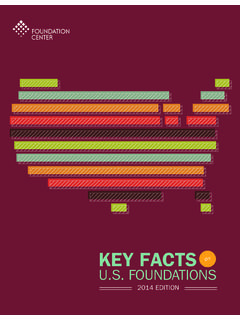 KEY FACTS - Foundation Center