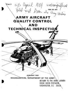 «ARMY AIRCRAFT QUALITY CONTROL TECHNICAL …