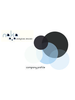 company profile - Noko Analytical Services
