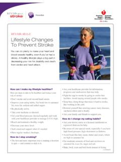 let's talk about Lifestyle Changes To Prevent Stroke