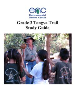 ENC 3rd grade Tongva Trail Study Guide - encenter.org