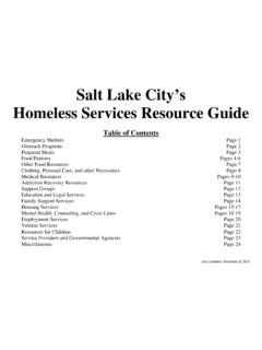 Salt Lake City's - slcdocs.com