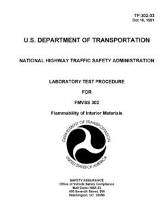 U.S. DEPARTMENT OF TRANSPORTATION - …