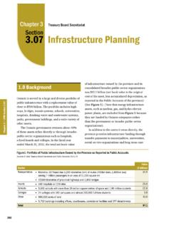 3.07: Infrastructure Planning - Auditor General of Ontario