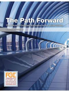 The Path Forward - Education in the United States