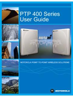 PTP 400 Series User Guide - azotel.com