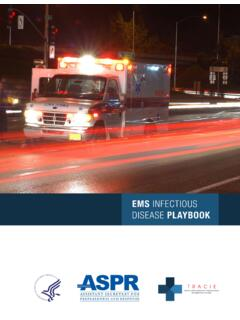 EMS Infectious Disease Playbook