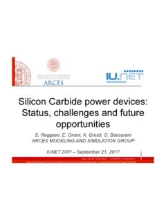 Silicon Carbide power devices: Status, challenges and ...