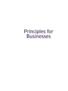Principles for Businesses - FCA Handbook