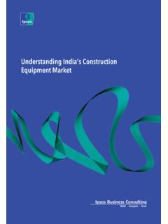 Understanding India's Construction Equipment …