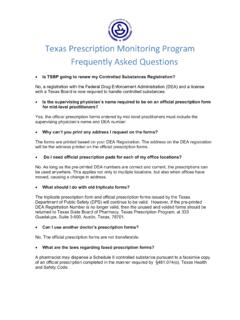 (4) Prescription Monitoring Program FAQ's - TSBP Website