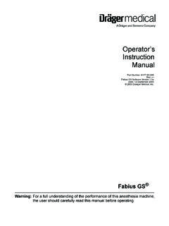 Operator's Instruction Manual