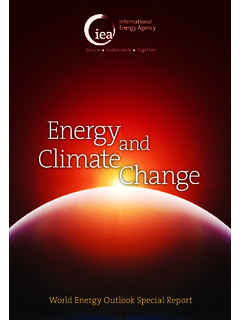 Energy and Climate Change - World Energy …