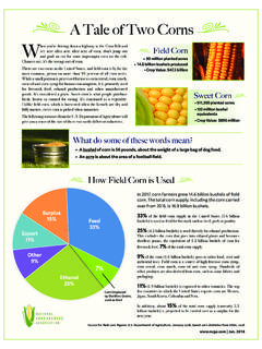 A Tale of Two Corns W Field Corn - ncga.com