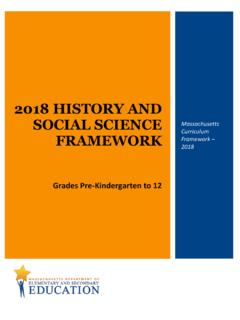 2018 History and Social Science Framework