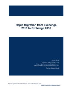 Rapid Migrating Guide from Exchange 2010 to Exchange …