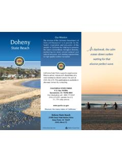 Our Mission Doheny - Doheny State Beach