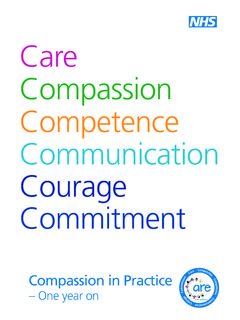 Care Compassion Competence Communication Courage …