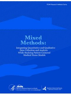 Mixed Methods: Integrating Quantitative and Qualitative ...