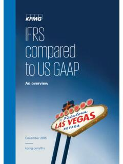 IFRS compared to US GAAP: An overview - home.kpmg