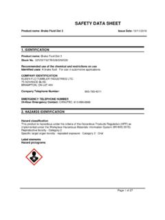 SAFETY DATA SHEET - Kleen-Flo