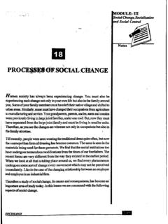 Processes of Social Change (570 KB)